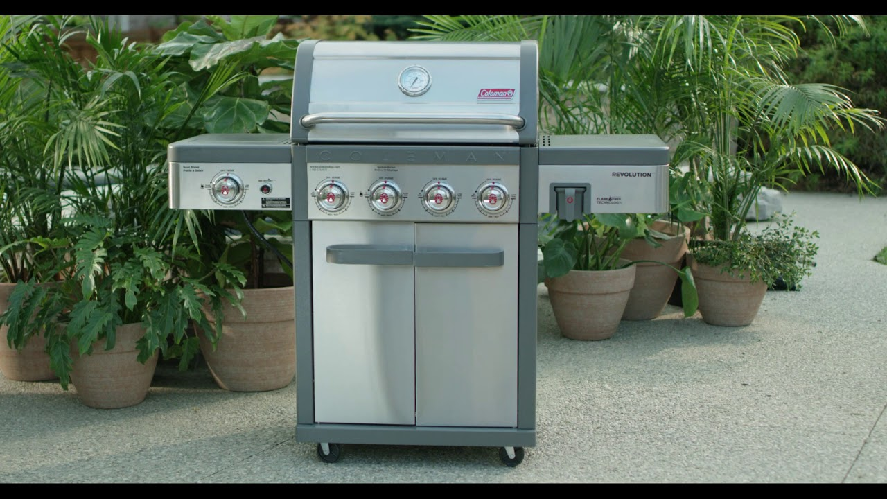 Les barbecues Coleman Revolution - YouTube