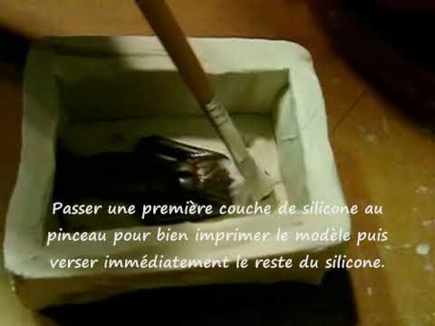 moule en silicone d 39 un petit soldat youtube. Black Bedroom Furniture Sets. Home Design Ideas