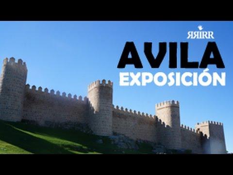 AVILA Spain en el Hotel Palacio de los Velada  exposicion de RRiRR