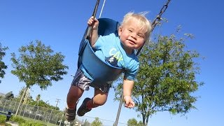 BABY FLYING AT THE PARK! (8.28.14 - Day 580)