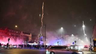 Nyårsfirandet på Möllevångstorget