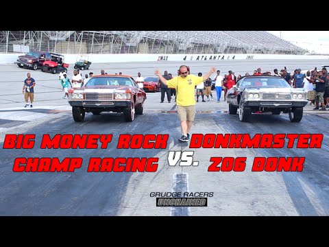 Donkmaster Z06 Donk vs. Champ Racing: Grudge Racers Unchained Exclusive