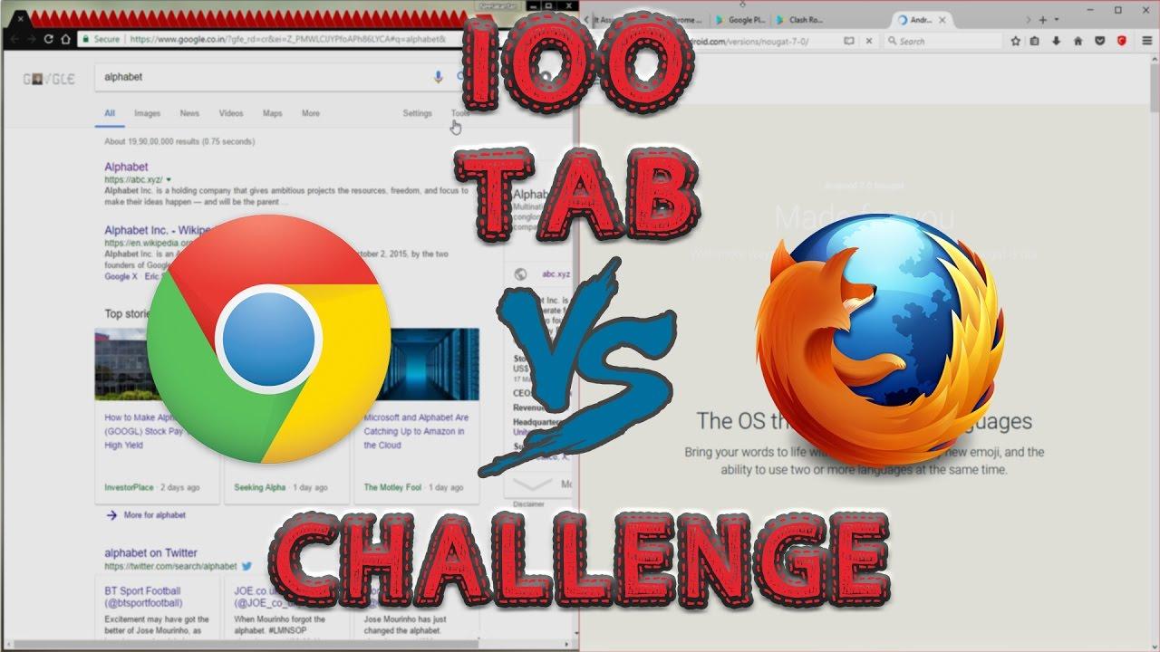 Mozilla Firefox Vs Google Chrome
