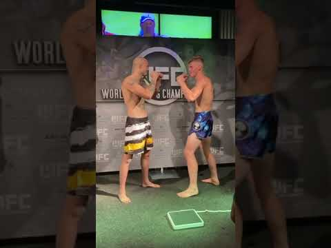Damien Blotzke saying all kinds of wild Stuff to Blake Perry!