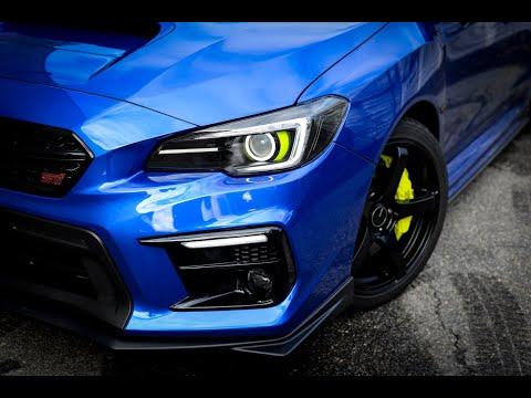 2018+ STi - Custom Headlights - Diode Dynamics Strips, Halos, + C-Light & Profile Prism Demon Eyes
