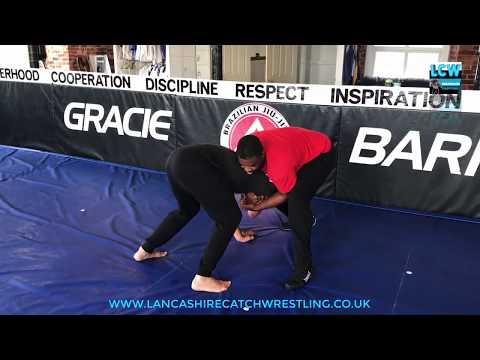 Ankle Pick Takedown Catch Wrestling