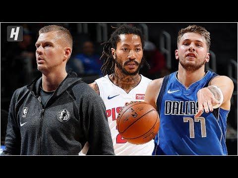 Dallas Mavericks vs Detroit Pistons - Full Game Highlights | October 9, 2019 | 2019 NBA Preseason