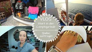 Start in den Urlaub |Campingurlaub mit 3 Kindern |Isola del Giglio |VLOG |Kathis Daily Life