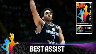 Puerto Rico v Argentina - Best Assist - 2014 FIBA Basketball World Cup