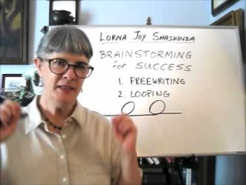 Brainstorming for Success: Freewriting and Looping