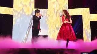Dù tình phôi pha (live) - Hồ Ngọc Hà ft Bùi Anh Tuấn - Full HD