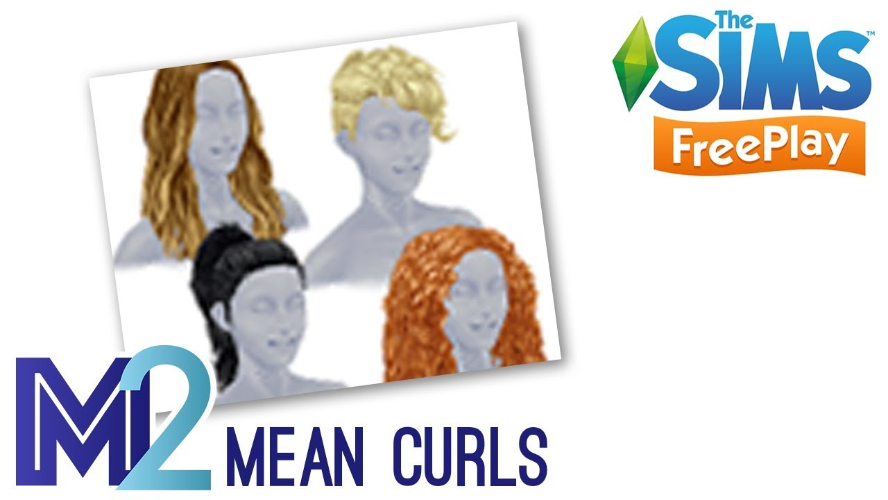 Sims Freeplay Mean Curls Hair Event Tutorial Walkthrough Youtube