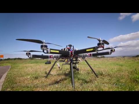 Sheffield Robotics drone research