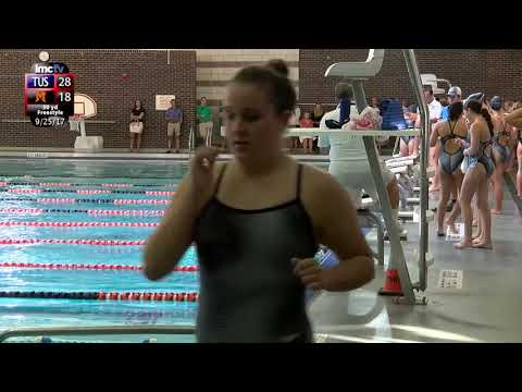 LMC Varsity Sports - Girls Swimming - Ursuline at Mamaroneck - 9/25/17