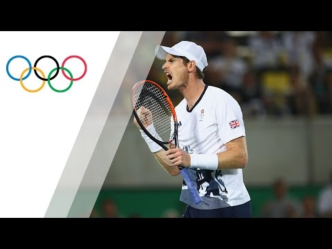 The Last Point for Andy Murray's Incredible Double Olympic Gold | Rio 2016