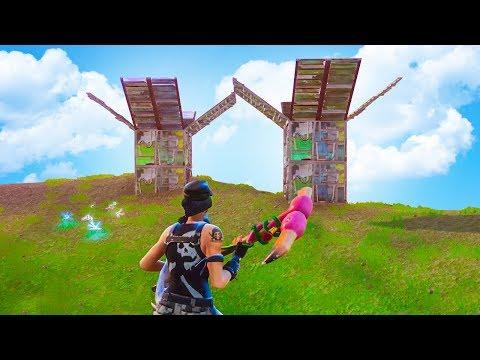 DUAL SNIPER TOWERS! - FORTNITE BATTLE ROYALE thumbnail