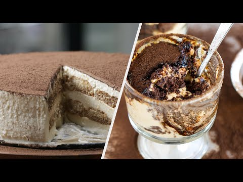 Tiramisu 5 Ways •Tasty