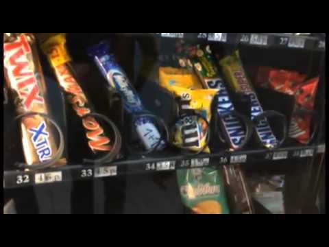 Автомат с едой. Бесплатно