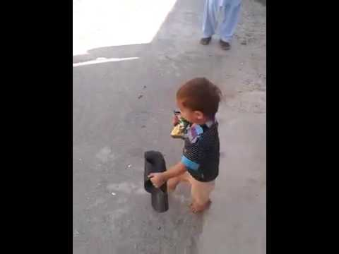 Kid invented a new way of doing things
