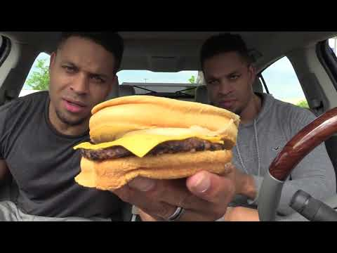 Eating Burger King's New Quarter Pounder @hodgetwins