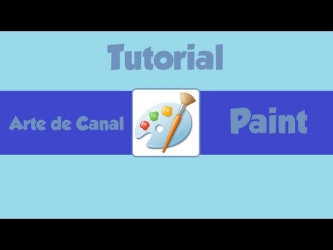 Tutorial 3 - Como criar Arte de Canal usando o Paint (Novo Layout do YT)