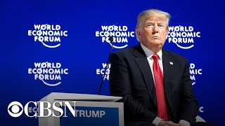 Gambar cover President Trump Speaks At The World Economic Forum in Davos, Switzerland