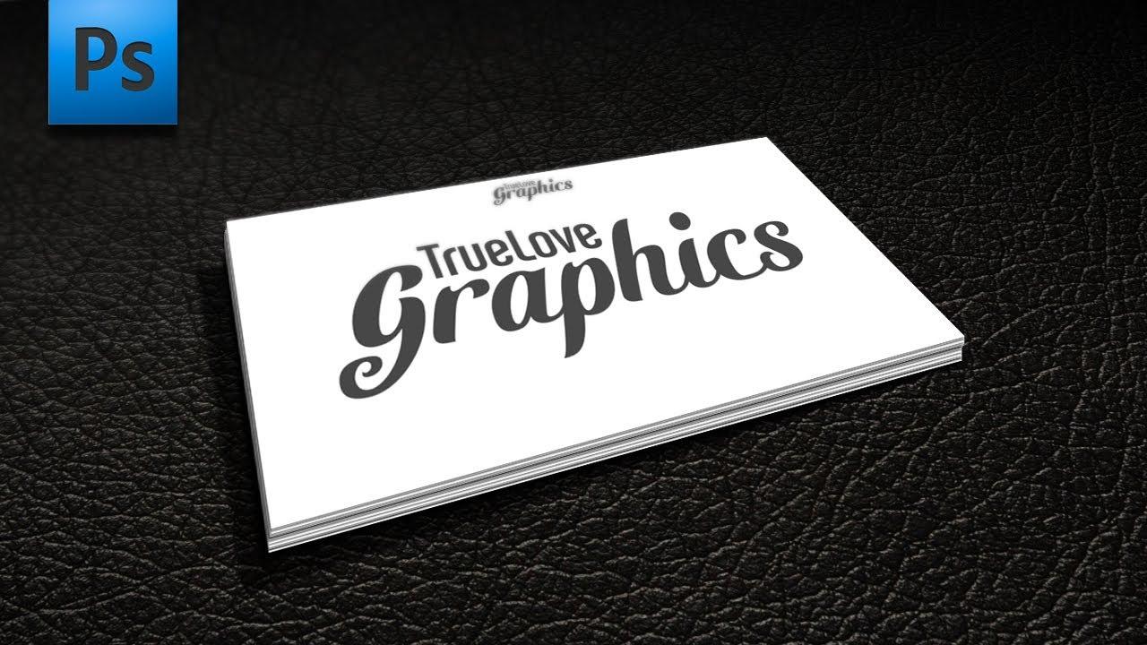 Adobe photoshop tutorial business card mockup youtube adobe photoshop tutorial business card mockup reheart Gallery