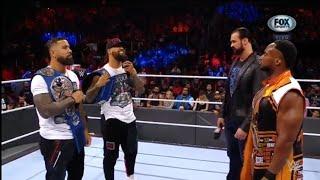 The Usos atacan a Drew McIntyre Big E WWE Raw 11 10 2021 En Español