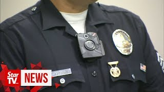 Cops: Good to have body cameras for transparency
