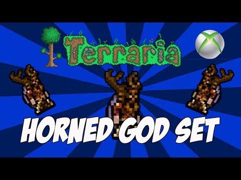 Terraria Console Exclusive  - Horned God Vanity Set (Terraria 1.2.3 Update)
