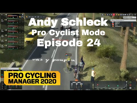 First WorldTour Race - Andy Schleck Pro Cyclist Mode Episode 24 - Pro Cycling Manager 2020  