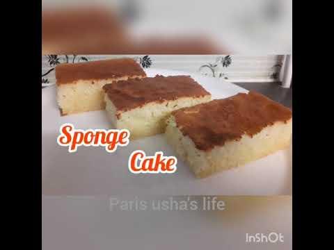 hot-milk-sponge-cake-recipe-||-recette-de-gâteau-au-lait-chaud