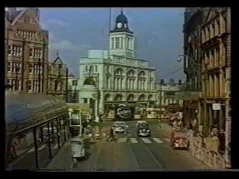 Sheffield City Centre 1960