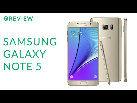 Review do Samsung Galaxy Note 5 - YouTube