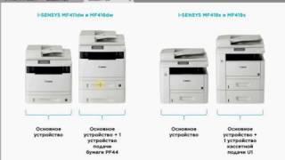 Обзор и сравнение МФУ Canon I Sensys MF411DN, MF416, MF418, MF419, MF512X, MF515X