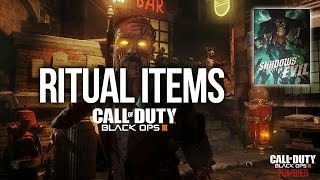 Zombies Shadows of Evil - All Ritual Item Locations