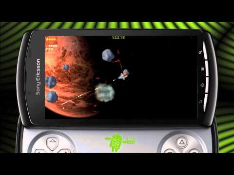 Sinister Planet on Android (Xperia PLAY Optimized)