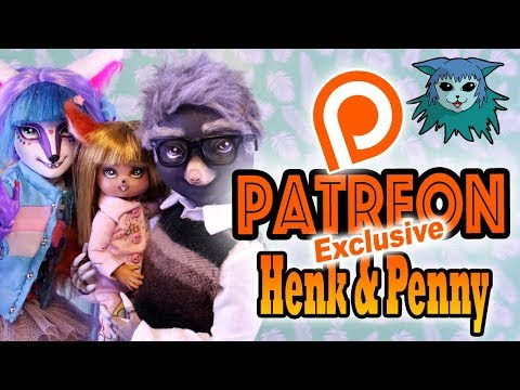 Patreon: Exclusive Doll repaint: Henk and young Penny Talpa