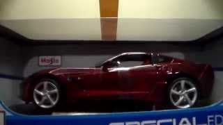 2014 corvette stingray and lamborghini diecast 1 18 scale model review