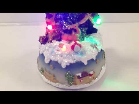 LED Light Battery Operated Christmas Scene