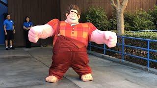 Wreck-It Ralph Meet and Greet DCA Disneyland Resort 2018 First Appearance