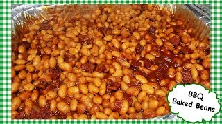 How To Make BBQ Baked Beans Recipe ~ Summertime BBQ Side Dish