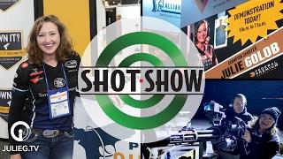 What happens in Vegas... 2017 SHOT Show | JulieG.TV