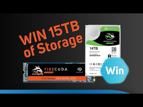 WIN A 15TB Seagate Bundle Worth Over £700! The LAST Scan Weekly Giveaway 30th August 2019