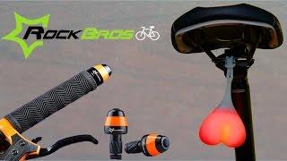 Задний фонарь и указатели поворота для велосипеда.  Силиконовые яйца(Задний фонарь в виде сердца и указатели поворота для велосипеда. Распаковка и обзор интересных аксессуаров..., 2016-10-23T08:59:27.000Z)