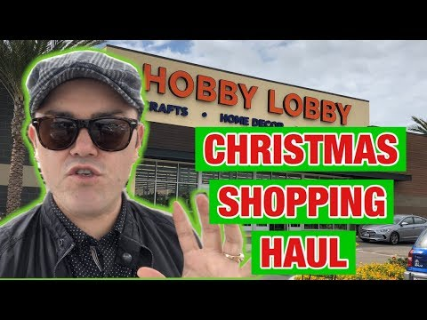 Hobby Lobby Christmas Decorating Ideas.Christmas Hobby Lobby Haul 2018 Christmas Decorating Ideas On A Budget