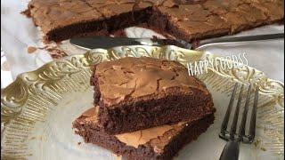 Orijinal Brownie tarifi; az malzeme bol lezzet!
