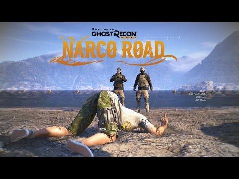 Taskforce 21 Narco Road Part 1: Moster Trucks, Planes, Point Break Easter Egg