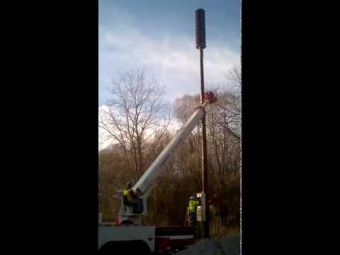 Outdoor Warning System installation in Dexter Township