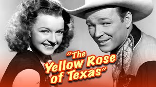 The Yellow Rose Of Texas (1944) | Full Movie | Roy Rogers | Trigger | Dale Evans | Grant Withers
